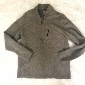 Ibex Merino Wool Pullover Top Size L